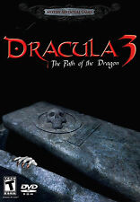 DRACULA 3: THE PATH OF THE DRAGON PC Game DVD-ROM Adventure NEW