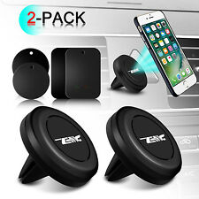 2Pk Universal Magnetic GPS Car Air Vent Mount Stand Holder For Cell Phone iPhone
