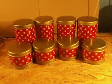 Cans Containers Kitchen Vintage USSR Soviet Metal Set 6ps.