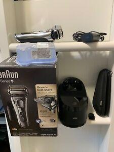 Braun 9295CC Series 9 Wet & Dry Mens Electric Shaver