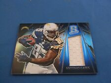 Panini Spectra 2013 Materials Jersey SP Short Print Antonio Gates 10 18/25