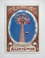 2017 Allen and Ginter World's Fair #WF1 Life Savers Parachute Jump New York