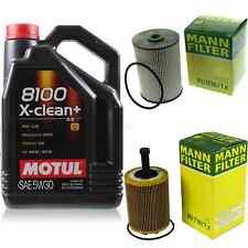 MOTUL 5 L 5W-30 MOTOR-ÖL+MANN-FILTER Seat Toledo III 5P2 2.0 TDI 1.9 Leon 1P1