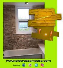 tampon pour plâtre imprimé FAUSSE PIERRE mur imprimé VERTICAL CONCRETE MOULE