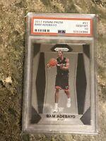 Bam Adebayo Miami Heat 2017 Panini Prizm Basketball Rookie Card RC #51 PSA 10