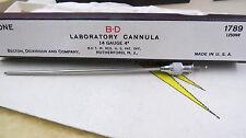 B-D Laboratory Cannula 14 gauge #14 1789 1250NR