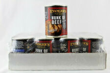 Evangers Canned Dog Food Hand Packed Hunk of Beef 12 cans 12 0z each 5/20 Sealed
