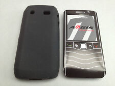 AEGIS Qualità in Silicone Gomma Gel Custodia Cover Pelle per BLACKBERRY PEARL 9100 9105