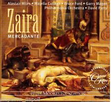 Mercadante: Zaira / Parry, Miles, Cullagh, Ford - CD
