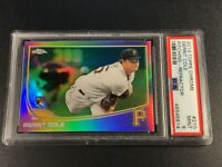 GERRIT COLE 2013 TOPPS CHROME #210 REFRACTOR ROOKIE RC PSA 9 YANKEES ACE