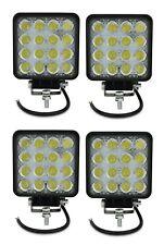 4X 48W WATT LED LUCE FARO SUPPLEMENTARE 12V DA LAVORO FARETTO AUTO CAMION MN