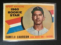 F66539  1960 Topps #121 Camilo Carreon RS RC WHITE SOX