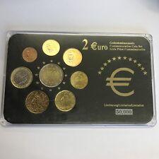2008 Francia 2 Euro Moneda Conmemorativa Set 8 monedas Pack #2