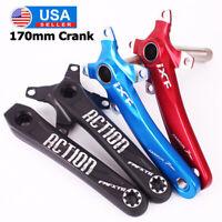 130BCD 170mm Crank Arm MTB Road Bike Crankset Left Right Crankarm Chainring