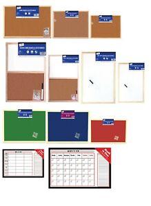 Wooden Frame Notice Board Cork Pin Message Memo Office School Pin board Push Pin