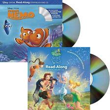 Disney Fairies Read-Along Secret of the Wings & Finding Nemo (2 Paperback & CDs)