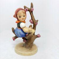 """4"""" Goebel Hummel Figurine Apple Tree Girl 141 3/0"""