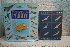 LOT 2 PHOTOS  BIRD FLIGHT THE LORE OF FLIGHT AIRPLANES FLYING HISTORY STRUCTURE