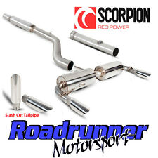 Scorpion Clio 197 Sport Exhaust Stainless Cat Back Resonated With De Cat Slash T