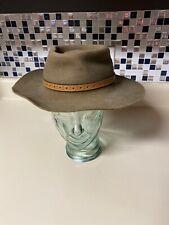 Vintage Australia Aussie Hat Co Rabbit Felt  Western Hat Cowboy