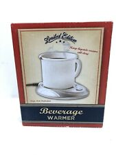 Limited Edition Beverage Warmer for Coffee, Tea, Soup, Cocoa