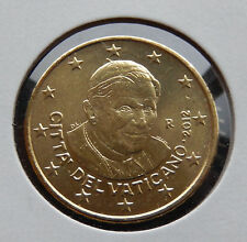 2012 R Vatican Pope Benedict XVI 50 Cent Euro Coin BU From a Mint Roll SB3559