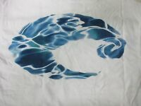 New Authentic Costa Del Mar, Born On The Water, White S/S T-Shirt Size - Small