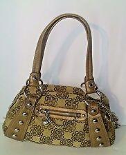 Kathy Van Zeeland Handbag Bronze Floral Charmed Life Satchel NWT