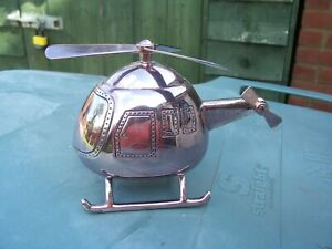 Novelty Helicopter Shaped Small Moneybox
