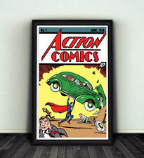 11x17 Action Comics #1 Comic Book Cover Replica Poster DC Movie Superman