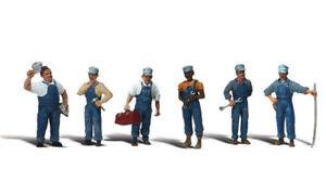 Woodland Scenics ~ HO Scale People ~ Train Mechanics ~ A1859
