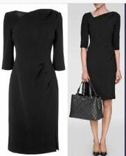 BNWT LK Bennett black Mariana desk to dinner Dress slim 16 or 14 RRP £250