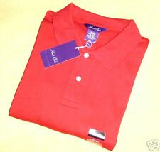 THE HUNT CLUB BRAND RED POLO SHIRT SHORT SLEEVE KNIT SIZE XXL VINTAGE NEW!