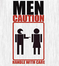 Hession, Richard, Men, Caution Handle with Care, Paperback, Very Good Book