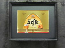 LEFFE BLONDE ABBEY ALE BEER SIGN  #648