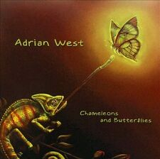 ADRIAN WEST : CHAMELEONS AND BUTTERFLIES CD***NEW***