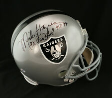 Mike Haynes SIGNED Raiders F/S Helmet + 9 x Pro Bowl + HOF 97 ITP PSA/DNA