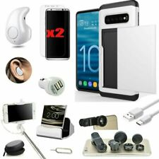 All in 1 Case Wireless Headset Accessory Bundle For Samsung Galaxy S8 S9 S10+