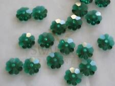 20 Emerald Swarovski Margarita Spacers 3700 6mm