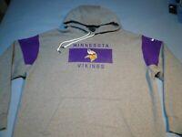 Nike Minnesota Vikings Historic Loose Fit BRAND NEW Hoodie NWT L XL Vikes