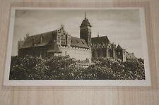 """*Deutsches Reich AK *Marienburg - Hochschloß, Südost-Ansicht*    """"Westpreußen"""""""