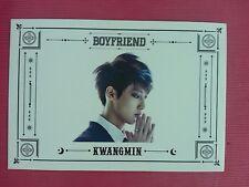 BOYFRIEND KWANGMIN Official Photo Card 3rd Witch Photocard BOY FRIEND KWANG MIN