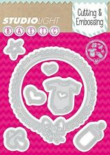 Studio Light Cutting & Embossing Die BASIC No. 27 BABY FRAME