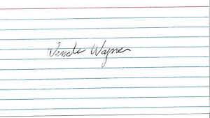 WENDE WAGNER (+1997) - Actress - The Green Hornet TV - Autograph