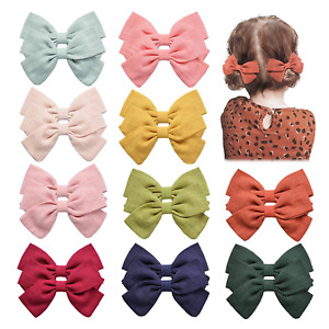 20PCS Baby Girls Hair Bows Clips Hair Barrettes Accessory for Babies Infant Kids