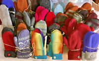 BERNIE MITTENS, FOR VALENTINE'S DAY Recycled Wool Sweaters YOU CHOOSE COLOR,