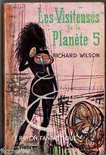LE RAYON FANTASTIQUE n°92 ¤ RICHARD WILSON ¤ LES VISITEUSES PLANETE 5 ¤ EO 1962