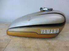 1972-74 Yamaha TX750 TX 750 Y678' gas fuel petrol tank cell w/ cap