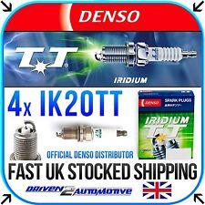 4x DENSO IK20TT IRIDIUM TT FOR RENAULT MEGANE I Cabriolet 1.6 e 10.96-03.99