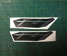 Logo Yamaha FZ 1 Nero/Argento striscia arg. - adesivi/adhesives/stickers/decal